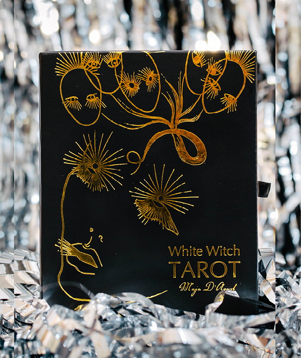 White Witch Tarot Deck